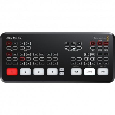 Blackmagic Design ATEM Mini Pro HDMI Live Stream Switcher
